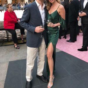 Zara Dresses - Zara Emerald Gala Gown
